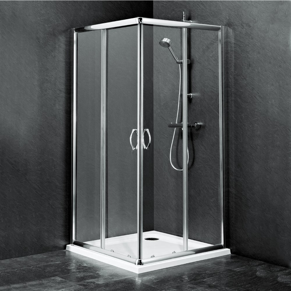 Best Corner Shower Doors And Enclosures Behind The Shower