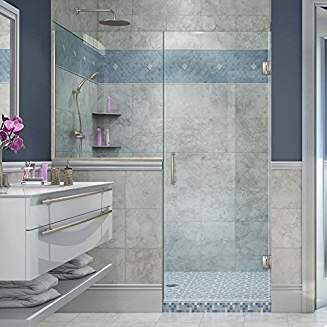 dreamline in kit x pivot dl a h enclosure coordinating frameless and base w slimline flex includes this white beautiful tub efficient d door shower