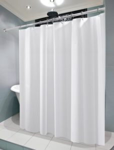 LiBa PEVA Antimicrobial PVC Free Shower Curtain Liner