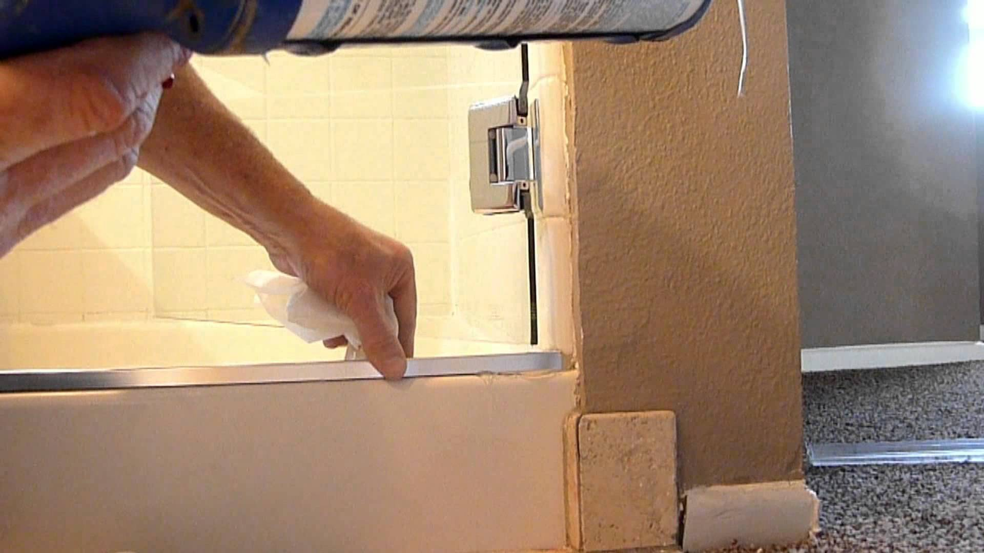 Keep Shower Door From Leaking
