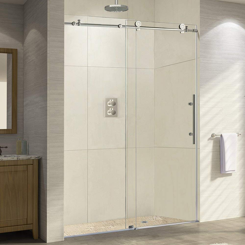 How To Adjust A Shower Door Behind The Shower