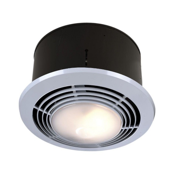 Exhaust Fan With Light And Heater Combo Reviews Behind