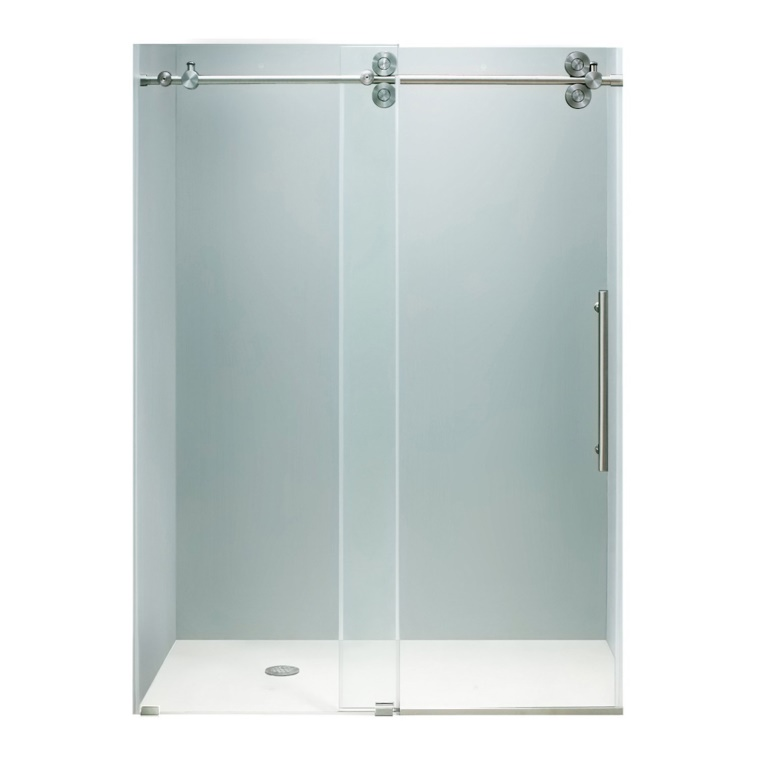 Best Rolling Glass Shower Doors Reviews Behind The Shower