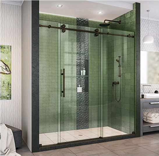 Best Multi Panel Shower Doors Reviews Behind The Shower